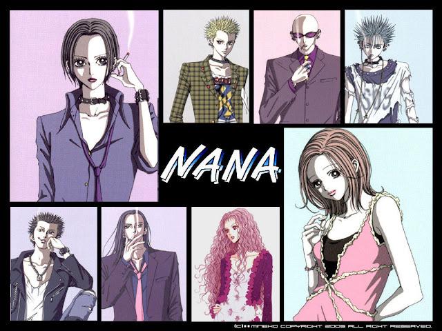 Recomenadacion Anime Nana