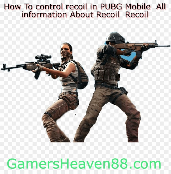 How To control recoil in PUBG Mobile || All information About Recoil || Recoil Settings For New Players
