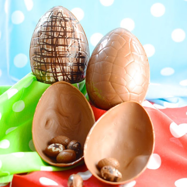 How to make Easter Eggs, including tips to temper chocolate