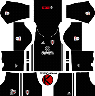 Fulham F.C. Kits 2017/2018 - Dream League Soccer