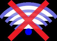 no signal indicator