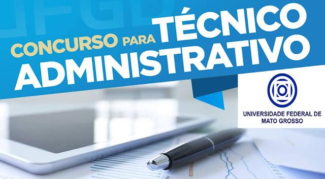 Concurso UFMT 2020