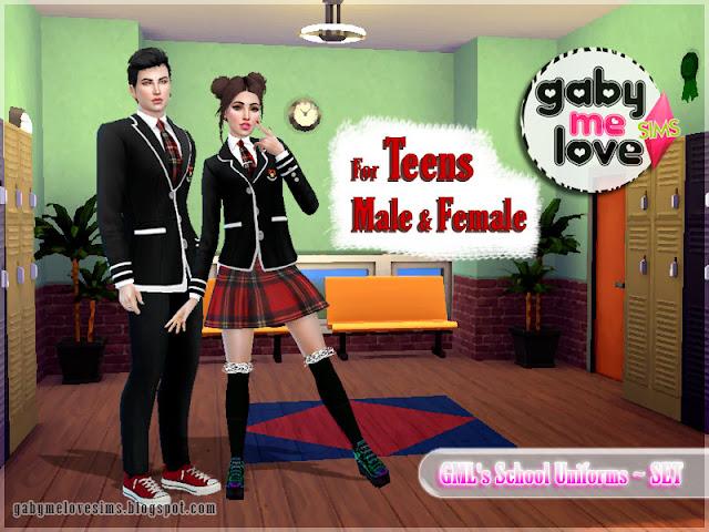 GML's School Uniforms ~ Teens