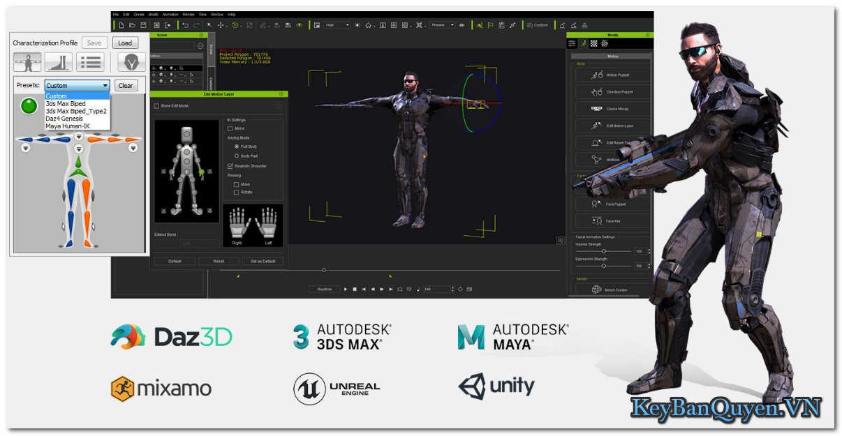 Download và cài đặt Reallusion iClone Pro 7.6.3201.1 Full Key, Phần mềm tạo hoạt hình 3D đẳng cấp .