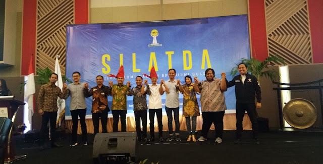 Calon Ketua Umum BPP HIPMI Hadiri Silatda Di Makassar