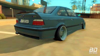 Download do mod BMW 3 E36 325i StanceNation para o jogo GTA San Andreas PC