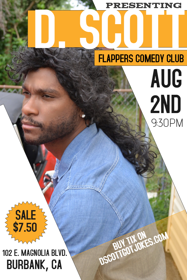 SHOW-TIME: Flappers Comedy Club (Burbank, California) (8/2/19)