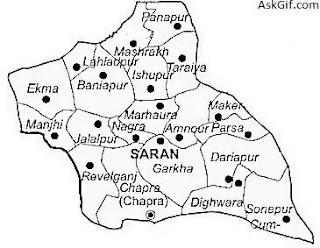 सारण (saran) का इतिहास, बिहार का जिला