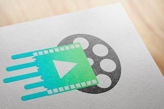 studio and tape double visual logo tempmock