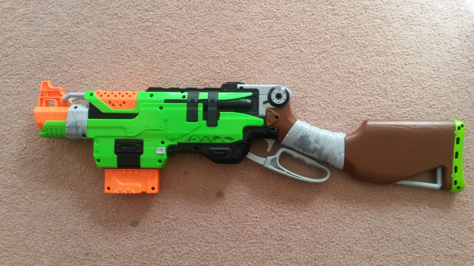 Outback Nerf: Review: Nerf Zombie Strike Slingfire (Aus ...
