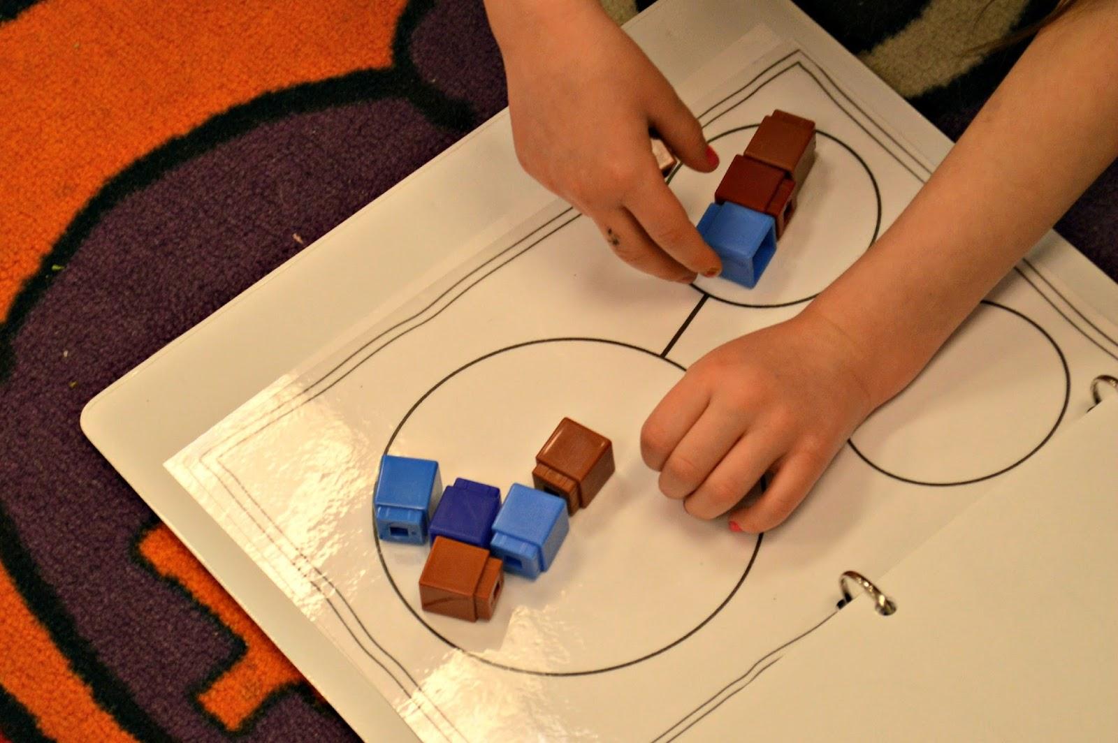 kindergarten math tool kits