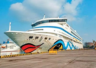 CRUISE FERRY SERVICE BETWEEN SURAT AND DIU TIME TABLE AND TICKET PRICE RENT