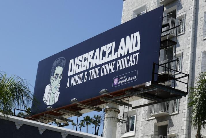 Disgraceland music true crime podcast billboard