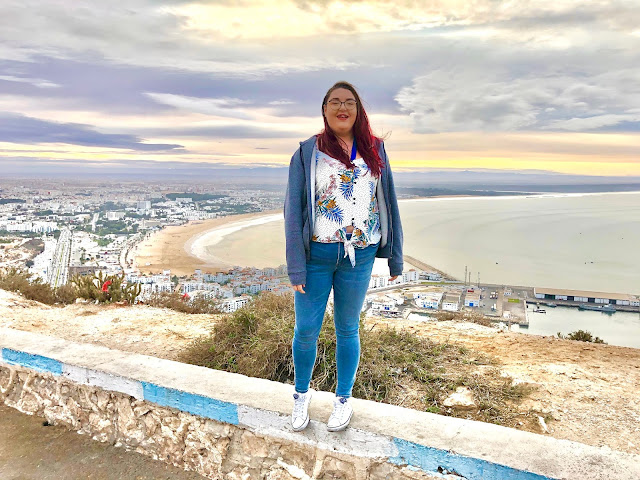 bristol plus size travel cruise influencer Morocco