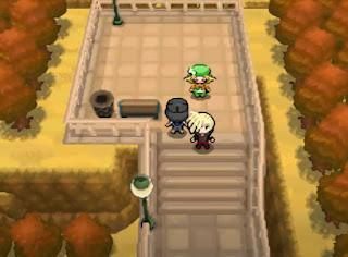 Pokemon Moon Black 2 para NDS Combate contra rival Gladio