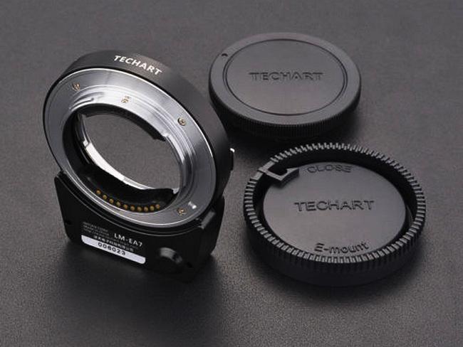 Автофокусный адаптер Techart Pro для камер Sony и объективов Leica M