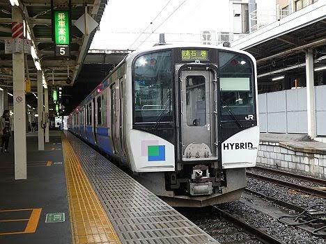 【ダイヤ改正で登場!】仙石東北ラインHB-E210 緑快速 石巻行き