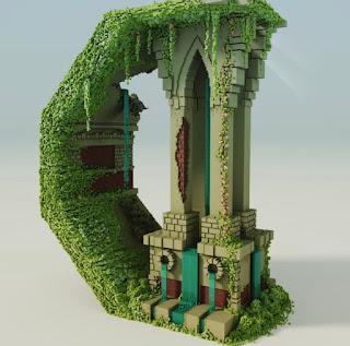 Voxel Art of the Month - October