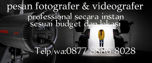 Jasa Liputan Fotografer dan Video shooting