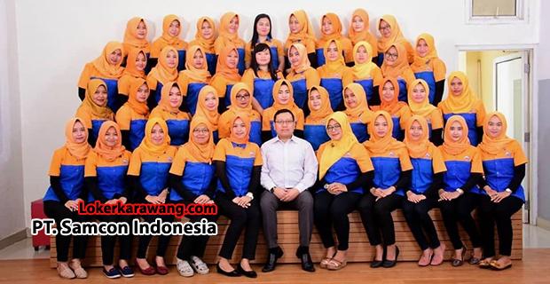 Lowongan Kerja PT. Samcon Indonesia Purwakarta September 2018
