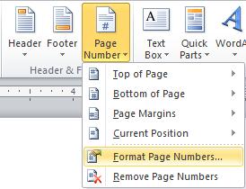 Membuat Format Halaman Berbeda pada satu dokumen Microsoft Word