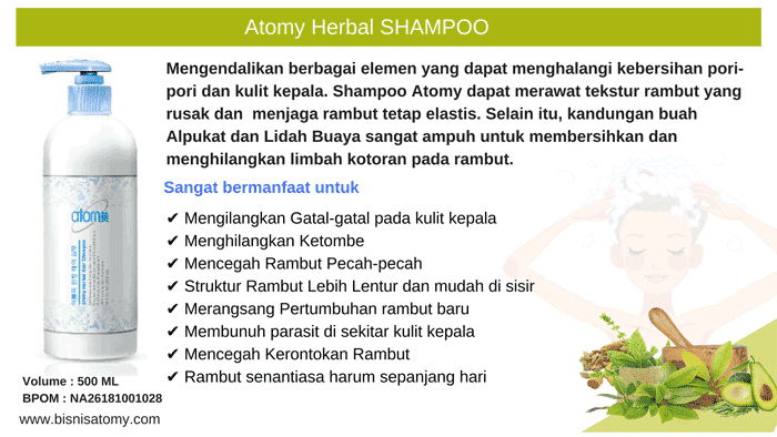 Atomy Herbal Shampoo