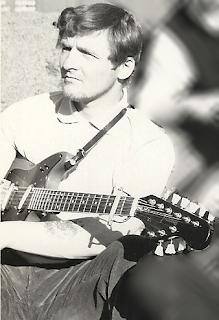 Terry Erickson mit Framus