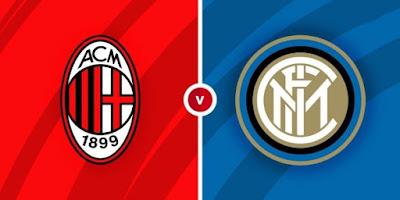 مشاهدة مباراة ميلان ضد انتر ميلان 21-2-2021 بث مباشر في الدوري الايطالي