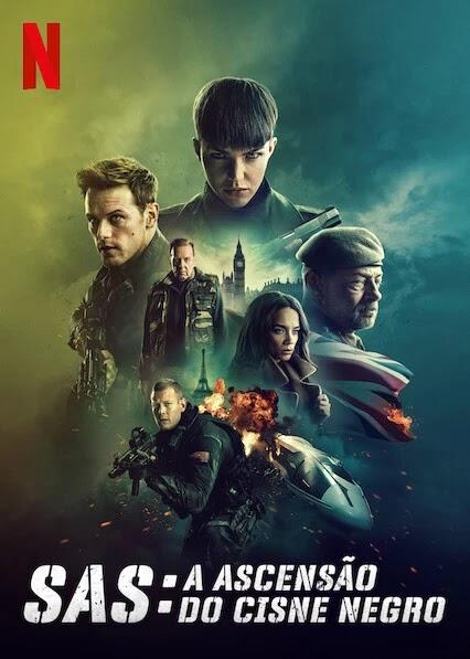 Protagonizado Por Estrela de Outlander, SAS: A Ascensão do Cisne Negro Está em Destaque na Netflix