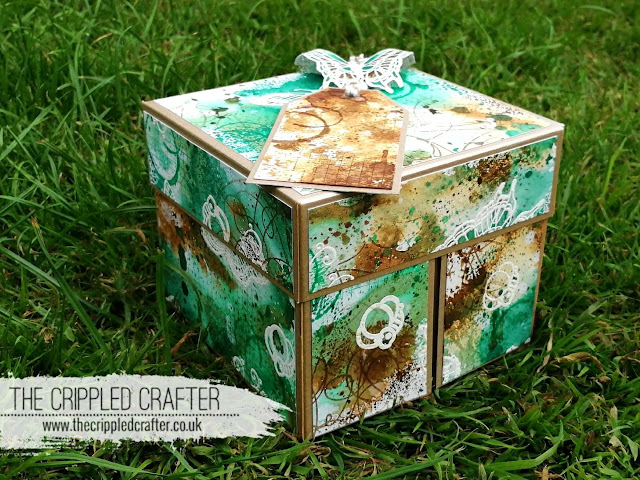 Cube Clamshell Gift Box by Sam Lewis AKA The Crippled Crafter