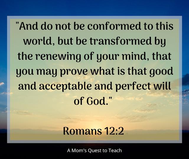 Romans 12:2 Quote