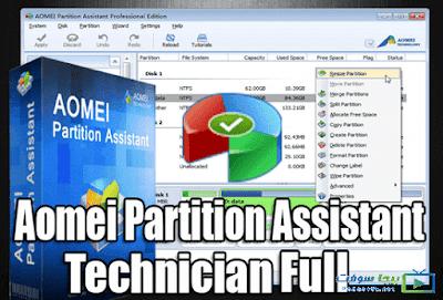 تحميل برنامج AOMEI Partition Assistant ويندوز 10