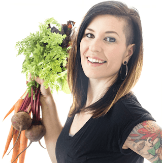 Holly Waterfall teaches you how to prepare vegan meals.