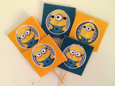 Ioanna's Notebook - Minion food tags free printable