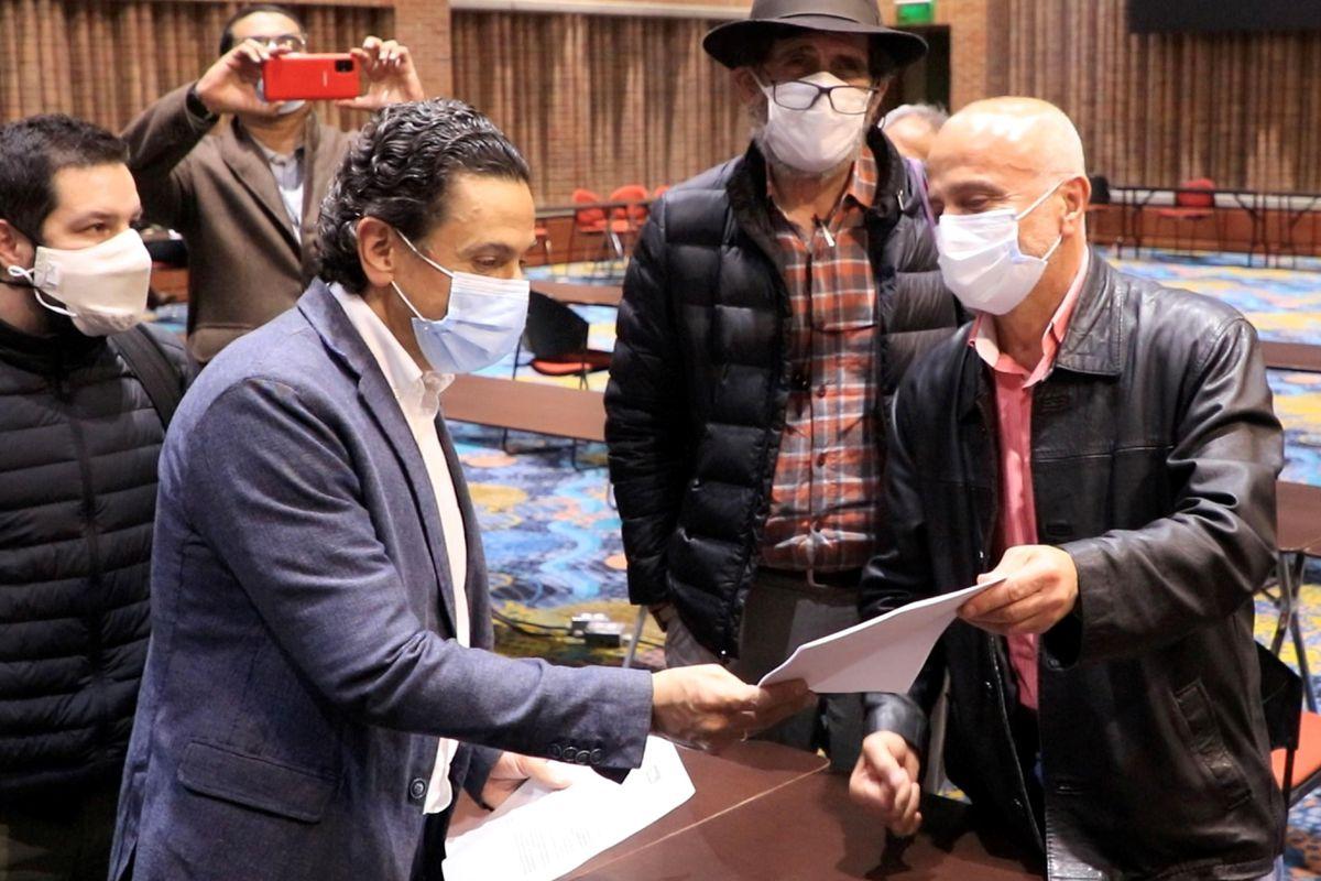 La renuncia irrevocable de Ceballos, Comisionado de Paz daría efecto el próximo miércoles 26 de mayo