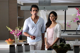 Actor Sonu Sood and Actress Sonal Chauhan Stills at Texmo Pipe Fittings Shooting  0009.jpg