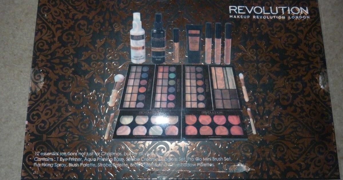 The Makeup Junkieu0026#39;s Diary Makeup Revolution 12 Days Of Christmas Gift Set