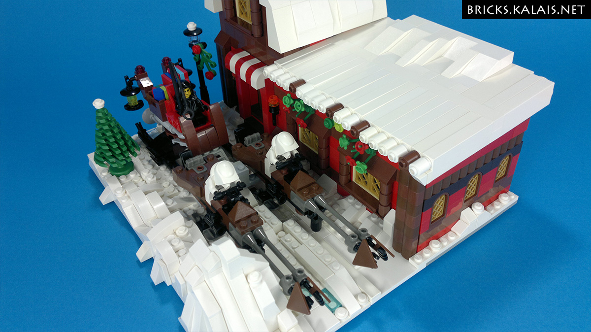 [MOC] Santa Palpatine's Workshop