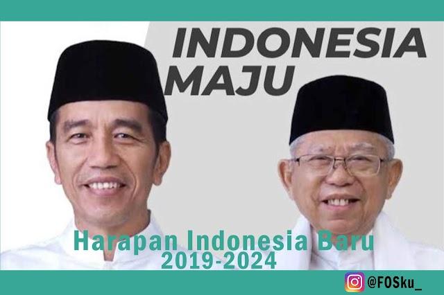 Kabinet Indonesia Maju, Harapan Baru Untuk Indonesia