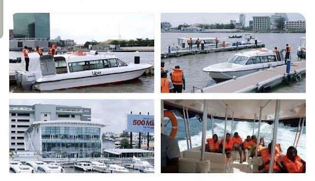 Uber Launches 'Uberboat' To Beat Lagos Traffic (Pictures)