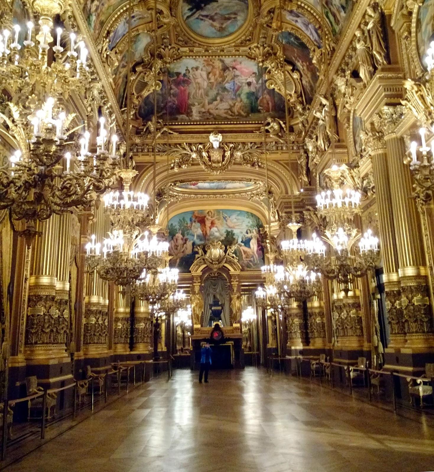 Le Chameau Bleu- Le Grand Foyer de l'Opéra Garnier à Paris
