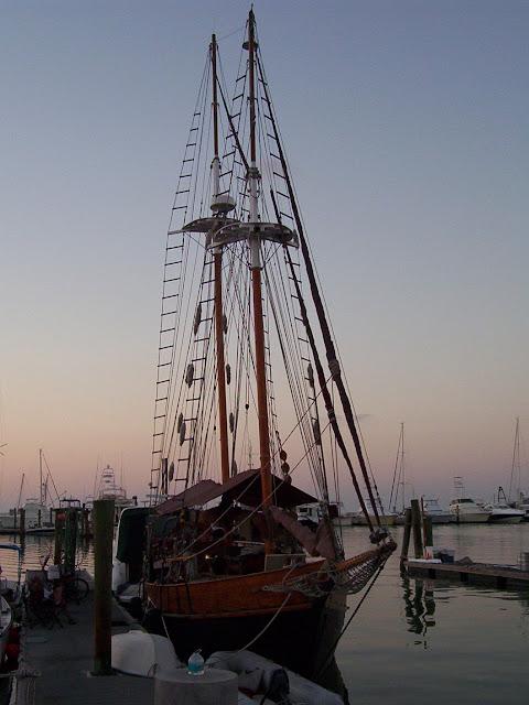 sailboat at Key West Bight