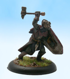 Pathfinder RPG Miniature Conversion Half Orc Fighter