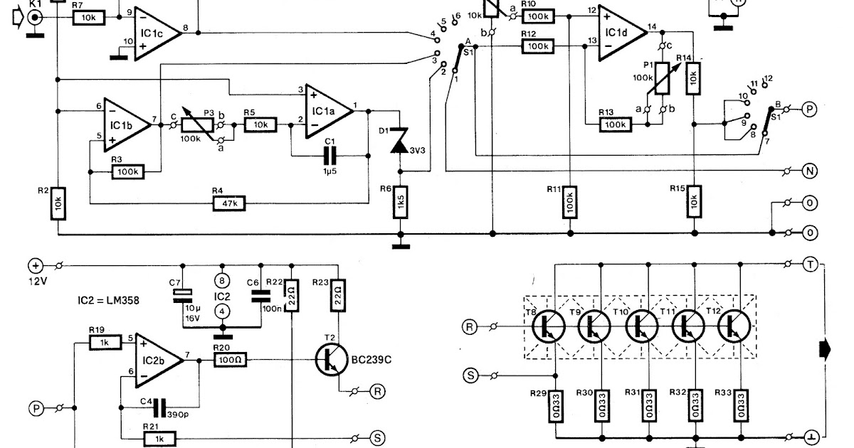 Various diagram: Electronic Load Circuit for Testing Power