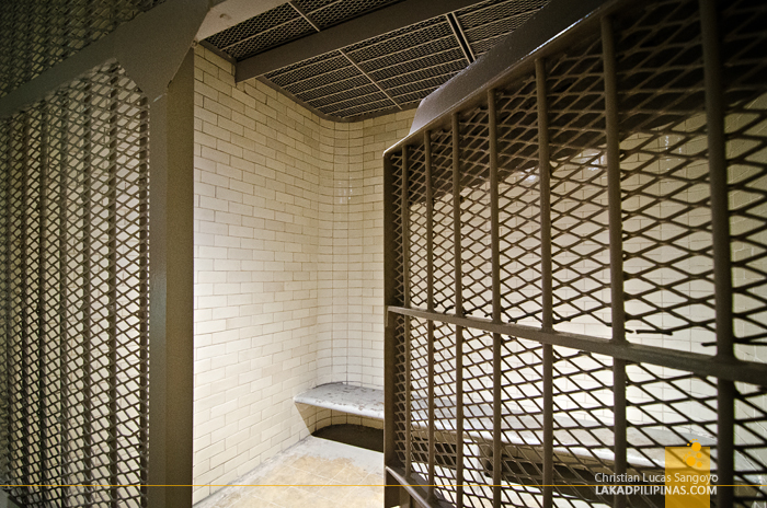 National Gallery Singapore Prison Cell