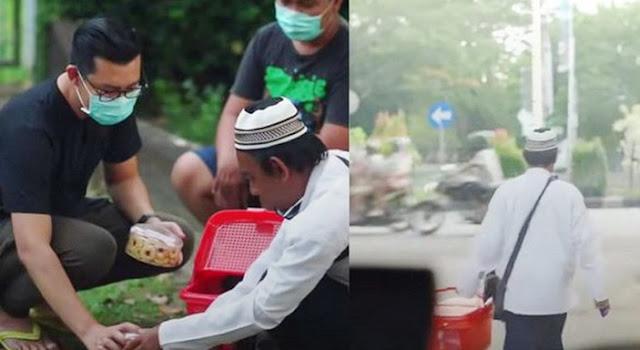 Walaupun Pendapatan Tak Seberapa, Bapak Penjual Kue Ini Selalu Menyisihkan Rezekinya untuk Diberikan Kepada Sesama