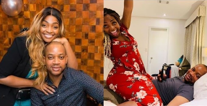 Davido's sister, Sharon storms her husband's IG page to warn his admirers