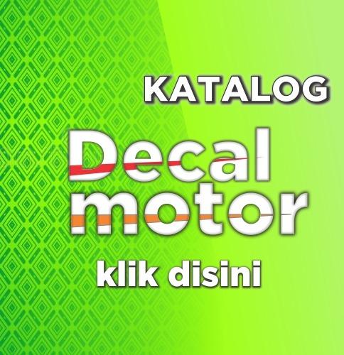 stiker decal motor