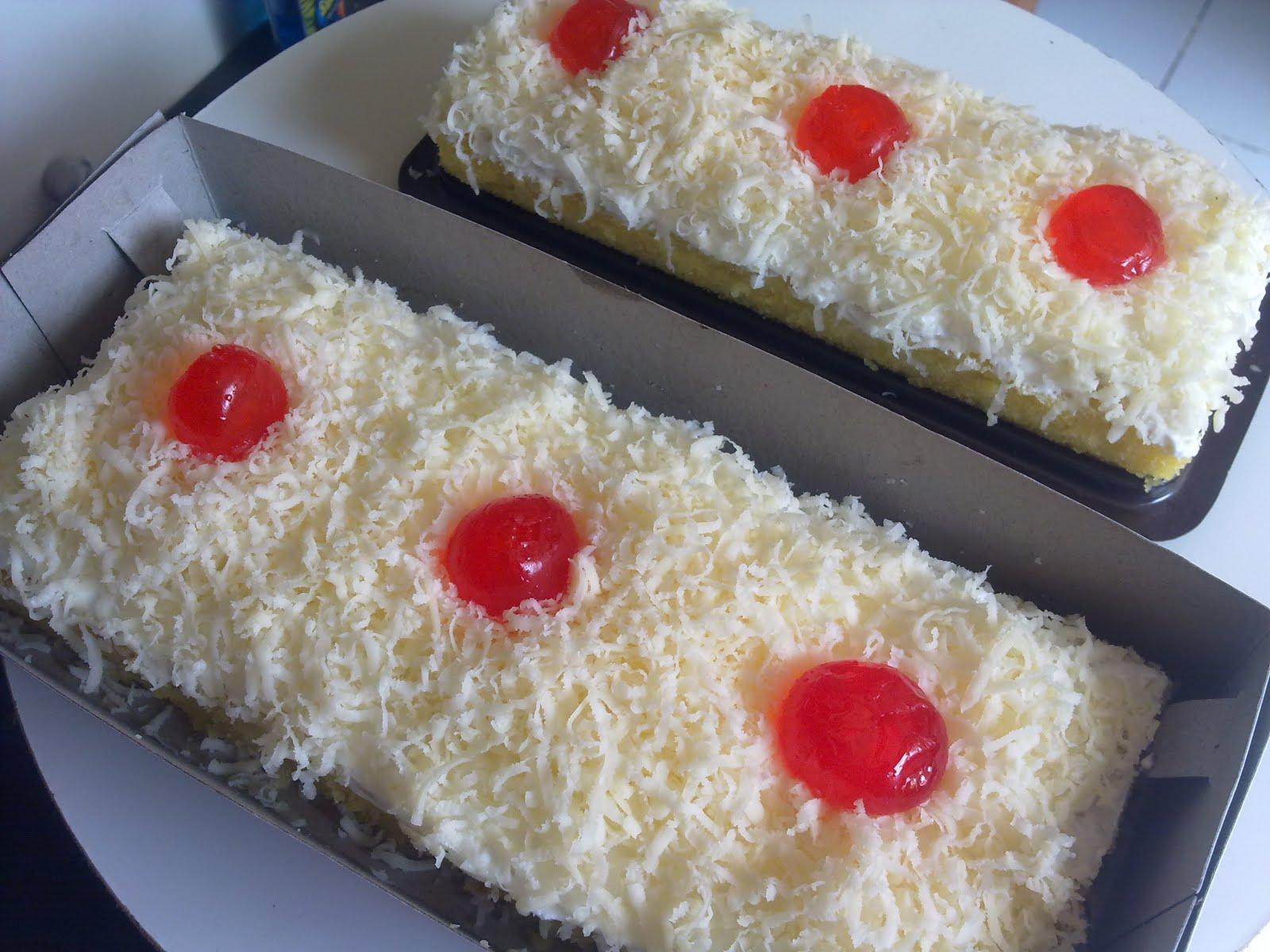 Resep Cake Kukus Keju Coklat: Cake Keju Kukus