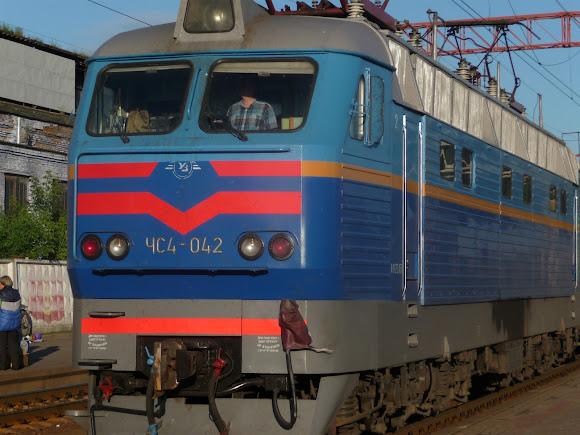 Железнодорожная станция Конотоп. Поезд № 47/48 Москва – Кишинёв
